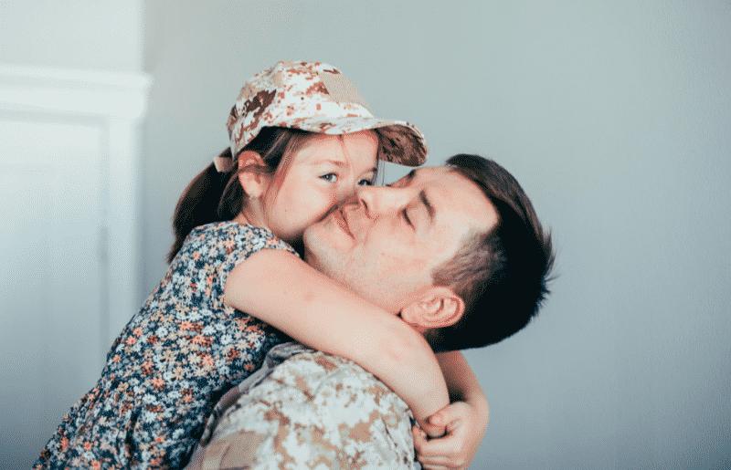militares con hijos