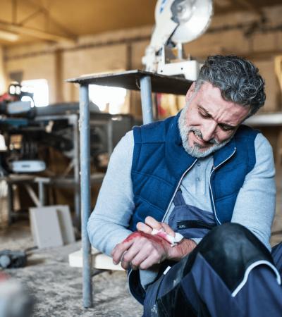 Accidente laboral derechos