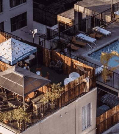 construir, terraza, azotea