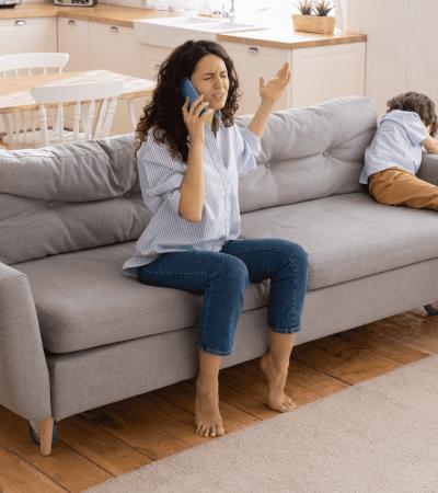 hijos denunciar ex pareja