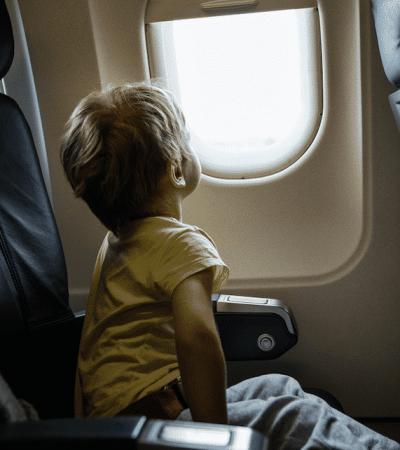 permiso, ex, viajar, hijos, extranjero