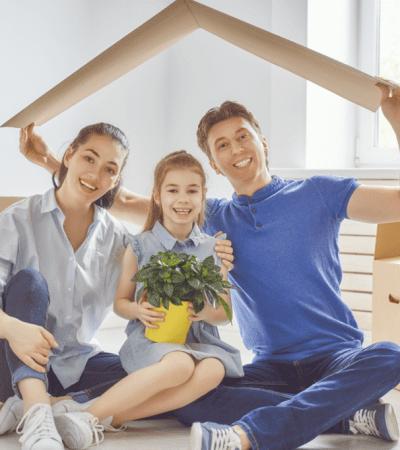 vivienda, familiar, nueva, pareja, casa, divorcio, niños
